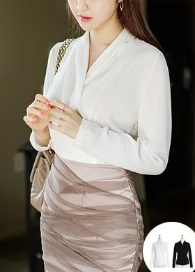 BS878 플라이앤유 blouse
