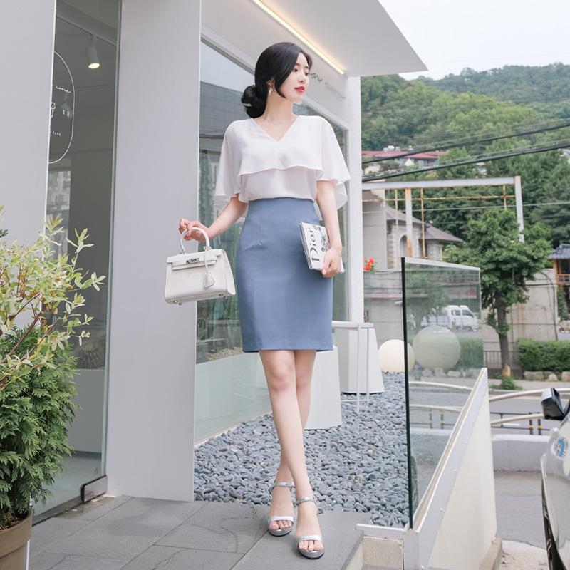 sk2622 미니, 5부, 롱기장 3타입으로 제작된 여름버전 H라인 베이직 스커트 skirt