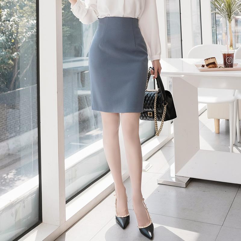 [SALE] sk2900 미니, 5부, 롱기장 3가지 타입의 가을 버전 슬림핏 H라인 스커트 skirt