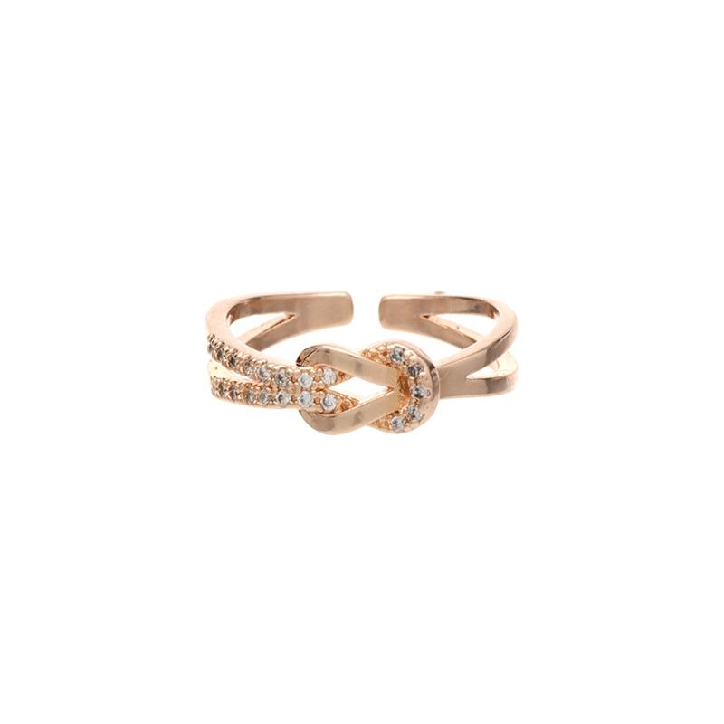 ac3800 페미닌한 포인트의 브레이드 큐빅 미스링 ring
