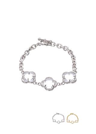 ac3926 투명 크리스탈 체인 브레이슬릿 bracelet