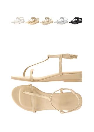 sh1433 스타일리쉬한 쪼리 디자인의 밴딩 샌들 shoes
