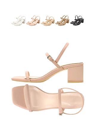sh1432 깔끔한 씬 스트랩 디자인의 데일리 오픈토 메리제인 미들힐 shoes