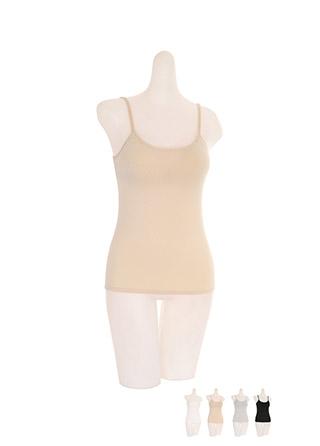 un196 소프트하고 쫀쫀한 스판패브릭의 스트랩 조절가능한 브라 캡 나시 underwear