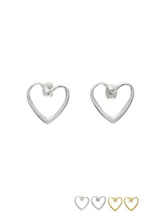 ac3997 러블리한 무드의 미니 하트 이어링 earring