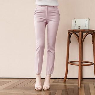ps970 봄여름 필수템 베이직라인 슬림일자핏 9부 슬랙스 팬츠 pants