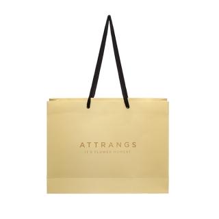 ac3125 ATTRANGSロゴ付きショッピングバック