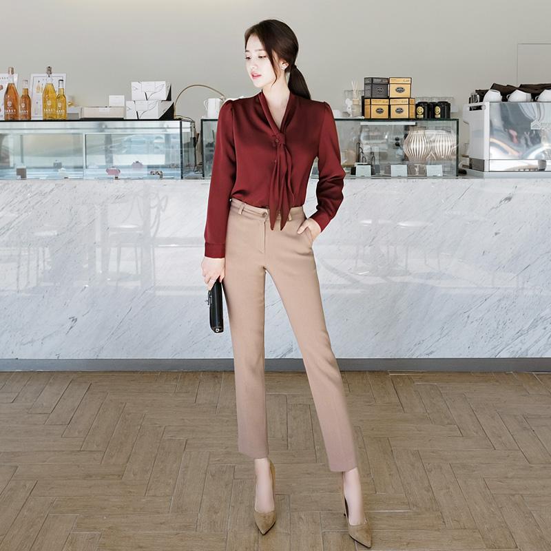 ps1523 도톰하고 따뜻한 기모소재의 슬림 일자핏 슬랙스팬츠 pants