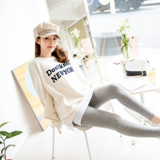 ps1642 Tシャツレイヤードレギンス