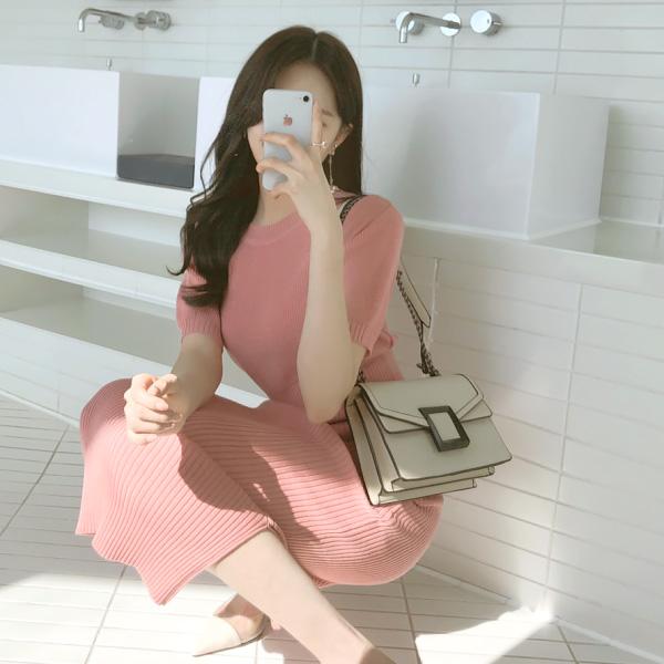 bg680 클래식한 감성의 스퀘어 장식 더블 스트랩 숄더백 bag