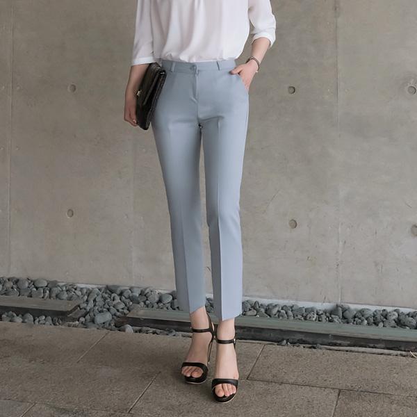 ps1700 산뜻한 소재와 세련된 핏의 슬림일자핏 슬랙스팬츠 pants