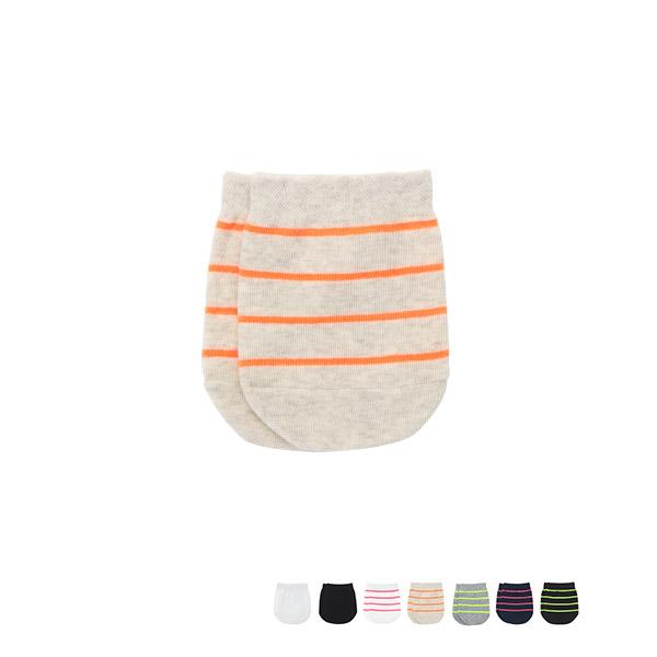 un211 무지와 스트라이프패턴 옵션 선택 가능한 블로퍼 양말(하프 삭스) socks