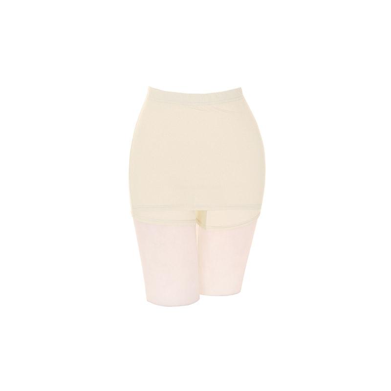 un221 앞면 스커트 디자인으로 Y존을 커버해주는 아이스쿨링 소재감의 밴딩 치마 속바지 underwear