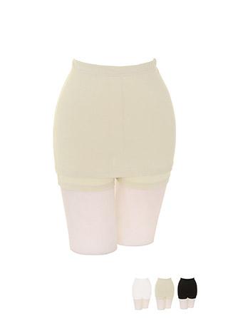 un218 매끄러운 라인과 활동성까지 챙겨주는 Y존 방지 치마 속바지 underwear