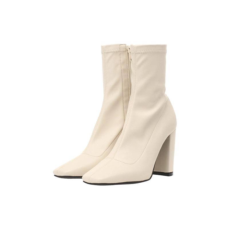 sh1569 스티치 포인트의 데일리 앵클 부츠 shoes