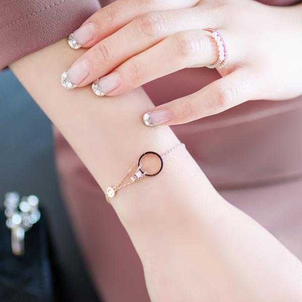 ac4115 마치 레이어드 한 듯 더블링 포인트의 브레이슬릿 bracelet