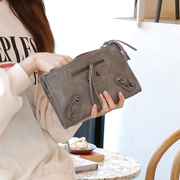 bg856 클러치, 숄더, 크로스백 3가지 활용이 가능한 미니 모터백 bag