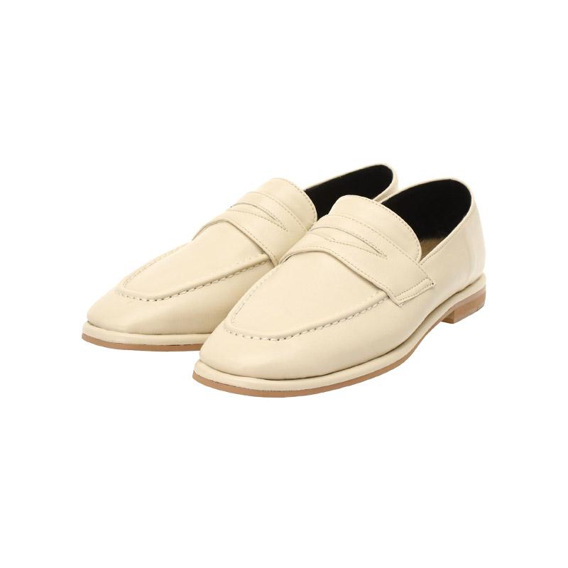 sh1656 따듯한 토끼털 안감이 더해져 체온을 높혀주는 데일리 클래식 로퍼 슈즈 shoes