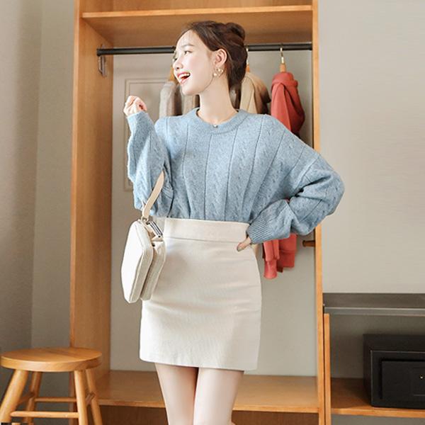 sk3796 따뜻한 보온성과 부드러움을 담은 코듀로이 미니스커트 skirt