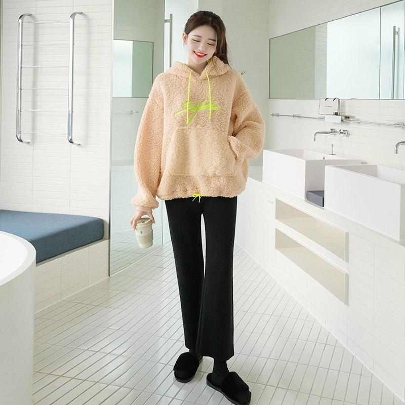 ps1994 따뜻한 보온성과 편안한 착용감의 무지버젼 데일리 니트팬츠 pants