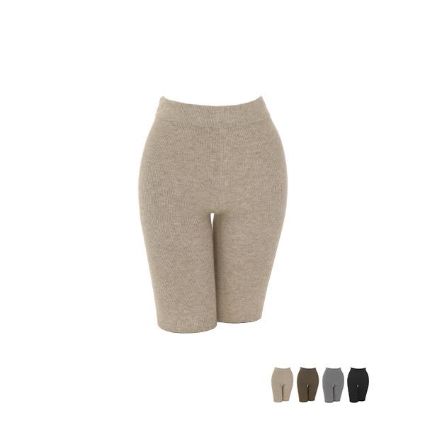 ps2001 잔골지 패턴과 부드러운 니트 짜임으로 제작된 허리밴딩 데일리 레깅스 leggings