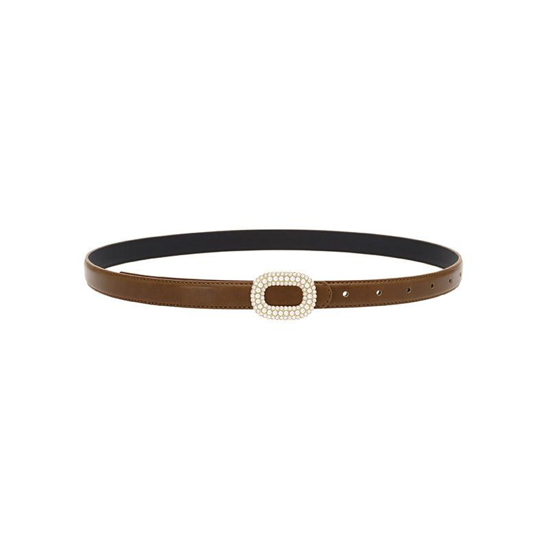 ac4312 진주, 큐빅 버클장식으로 스페셜하게 제작된 포인트 벨트 belt