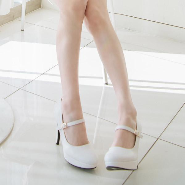 sh1738 여신 비율 만들어주는 가보시 메리제인 펌프스 힐 shoes