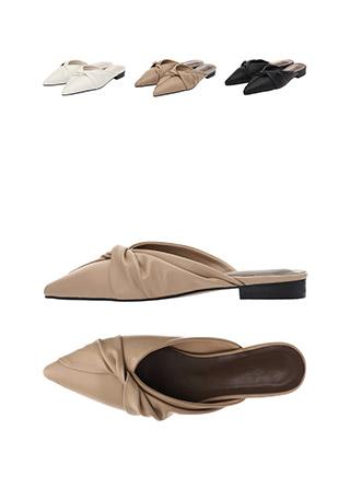 sh1750 엣지있는 트위스트 디자인의 슬림코 블로퍼 shoes
