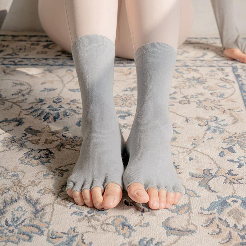 un278 스컬피그 앵클 요가삭스 socks
