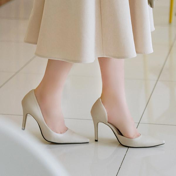 sh1775 봄처럼 싱그러운 컬러감의 스틸레토 하이힐 shoes