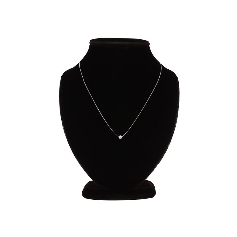 ac4383 데일리로 착용하기 좋은 심플한 디자인의 진주볼 네크리스 necklace