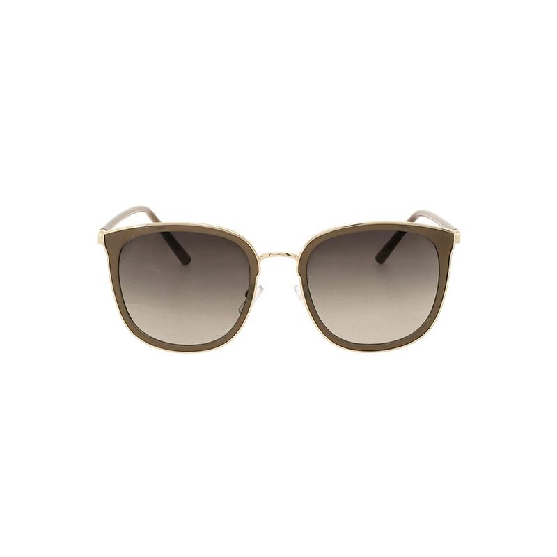 ac4376 부드러운 스퀘어쉐입과 골드프레임 장식의 포인트업 선글라스 sunglasses