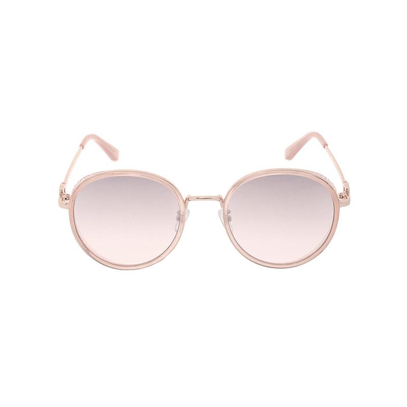 ac4370 부드러운 스퀘어 쉐입과 골드 라이닝이 돋보이는 포인트 선글라스 sunglasses