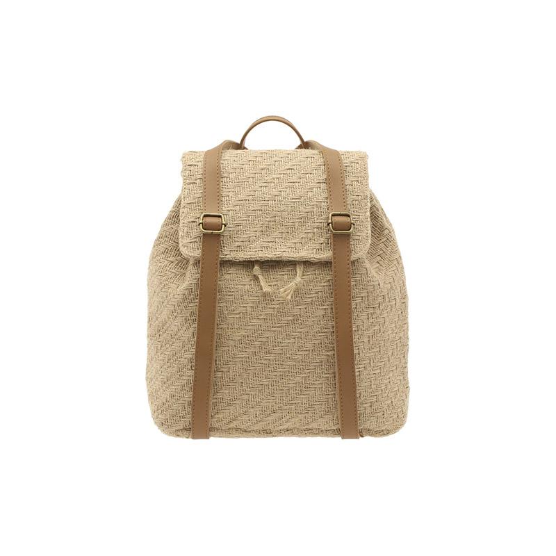 bg1052 リネン巾着シェイプバックパック