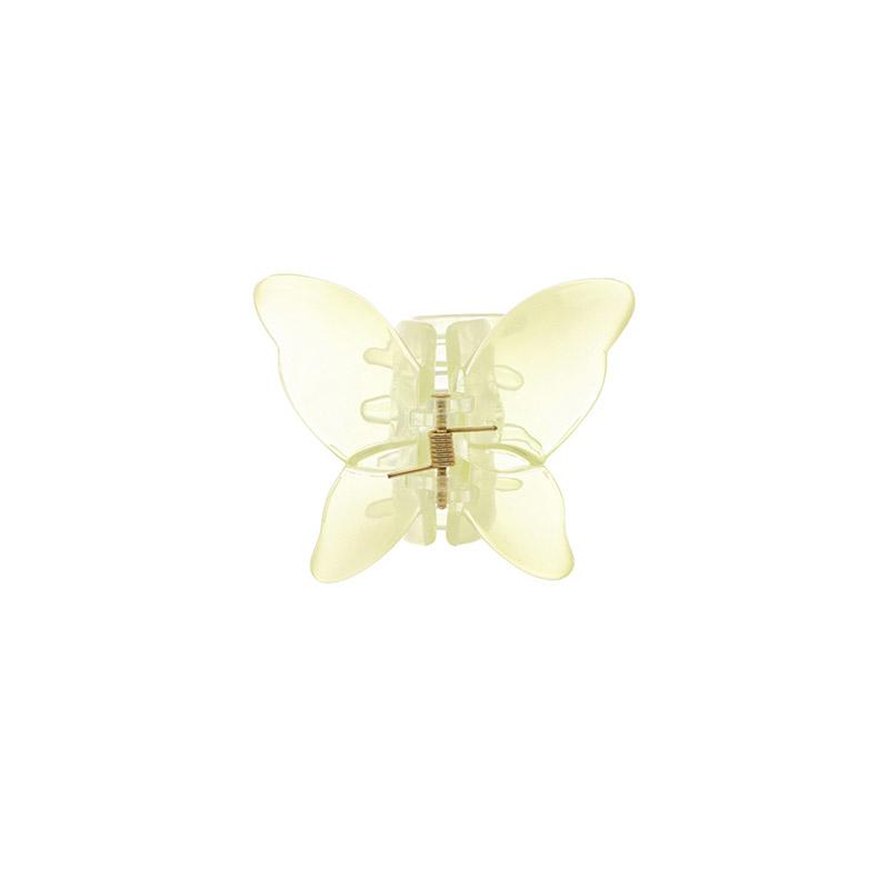 ac4542 흔치 않은 디자인에 여리여리한 느낌을 선사하는 나비 헤어 집게핀 hairpin