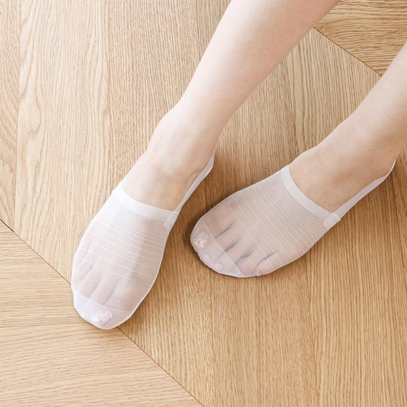 un329(A) 신은듯 안신은듯 가볍고 쫀쫀한 메쉬 패브릭 페이크 삭스 socks