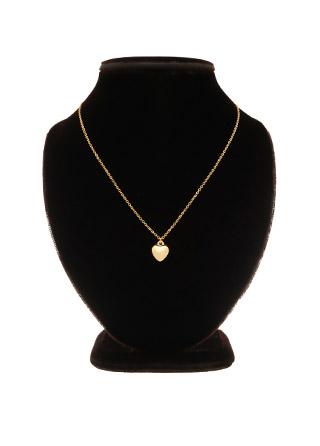 ac4575 러블리한 무드로 완성된 하트볼 펜던트 데일리 네크리스 necklace
