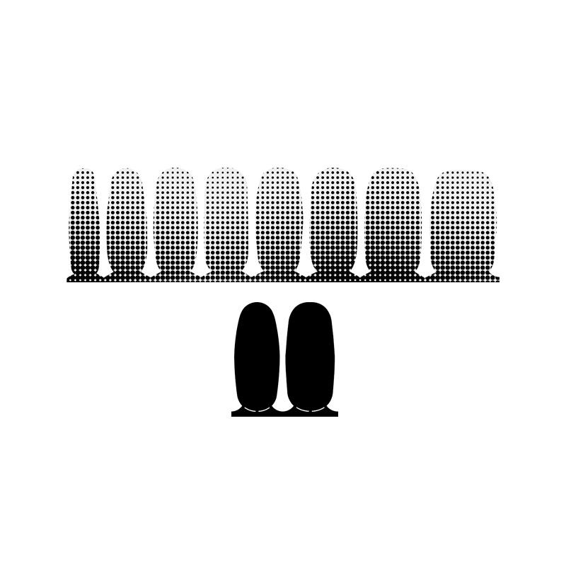 ac4596 인코코 블랙 도트 + 소호 블랙 nail