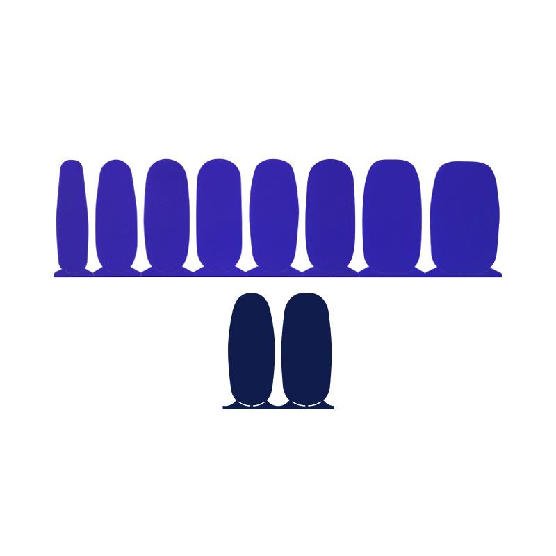 ac4605 인코코 첼시 블루 + 덤보 블루 nail