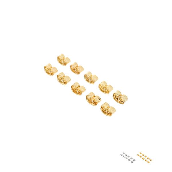 ac4634 골드, 실버 2컬러로 구성의 귀걸이 클러치 earring stopper