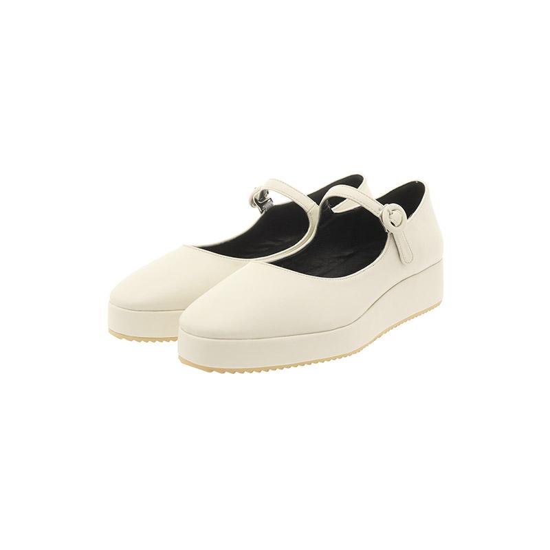 sh1933 귀여운 둥근코 쉐입의 데일리 메리제인 통굽슈즈 shoes