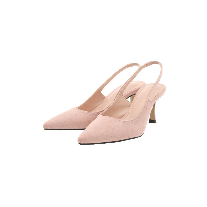 sh1972 매끈한 라인과 감각적인 컬러감으로 페미닌한 스타일링을 완성시켜줄 스틸레토 슬링백 shoes