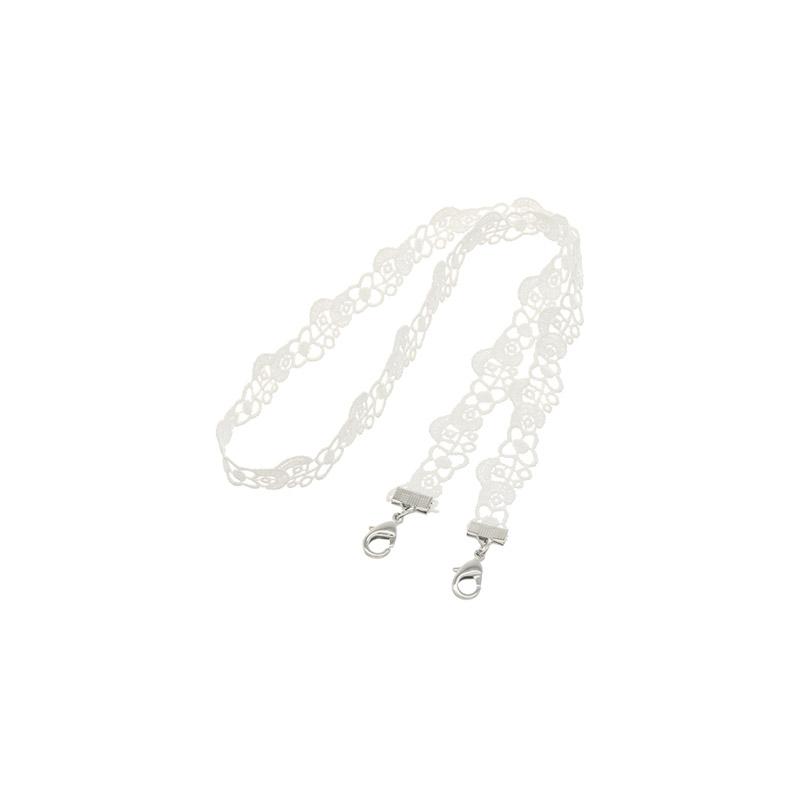 ac4659 러블리한 마스크 키퍼 레이스 플라워패턴 스트랩 mask necklace