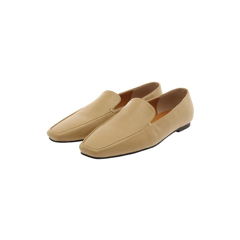 sh1980 클래식한 스퀘어쉐입의 심플 로퍼슈즈 shoes