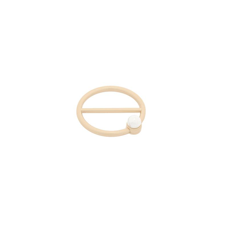 ac4692 세련미 가득한 심플 링에 진주 포인트 스카프링 scarf ring