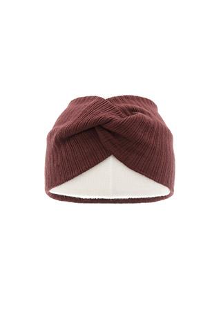 ac4705 내추럴하고 볼륨감있는 트위스트 포인트 골지 와이드 헤어밴드 hairband