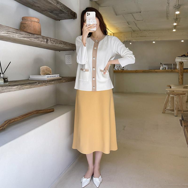 sk4338(B) 텐션 플레어 스커트 skirt