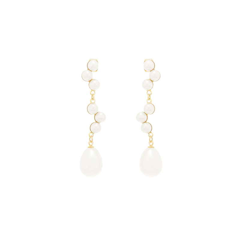 ac4736 로맨틱함에 여성스러움까지 더해주는 진주 드롭 이어링 earring