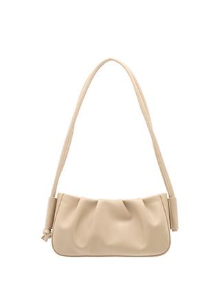 bg1152 트렌디한 셔링 디자인과 더블 스트랩이 돋보이는 숄더백 bag