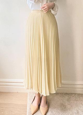sk4621 ラブリープリーツロングスカート